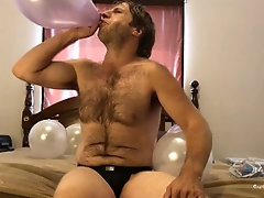 balloons;panty-fetish;hairy-chest;asmr;humor;gay-underwear;jockstrap;homoerotic;blowing-air;farting-sounds;ass;blow;bedroom;solo-male;adam-castle;fetish,Fetish;Solo Male;Gay;Bear;Amateur Stud N Jockstrap...