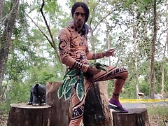 moana;4k;uhd;bbc;cosplay;costume;big-dick;huge-cock;outdoors;outside;mixed-race;solo;male;masturbation;cumshot;fetish,Solo Male;Gay Moana (4K)