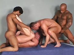 Group Sex (Gay);Wild Wild group bareback