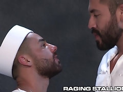 ragingstallion;gay;raging;stallion;jock;muscular;muscles;hunk;hung;big-cock;beard;hairy;kissing;military;navy;sailor;deepthroat,Pornstar;Gay;Hunks;Military,Bruno Bernal RagingStallion...