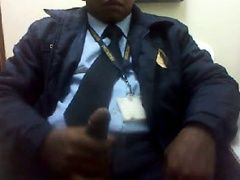Amateur (Gay),Black Gays (Gay),Gays (Gay),Masturbation (Gay),Solo (Gay),Uniform (Gay),Webcam (Gay) GUARDIA PAJEANDOSE