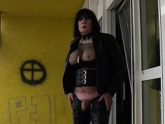Amateur (Gay),Crossdressers (Gay),Fetish (Gay),Gays (Gay),Men (Gay),Solo (Gay) MarcelinaTV outside