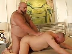 Bears (Gay);Big Cocks (Gay);Men (Gay);Muscle (Gay);Bearboxxx Woof Strapped