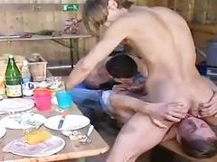 Threesome,Twinks,Gay,Blowjobs,Doggy Style,Gay,Threesome,Twinks In The Farm..