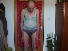 Men (Gay);Crossdressers (Gay);Masturbation (Gay) Alte perverse Sau