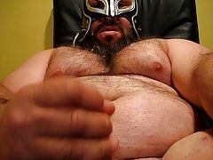 Men (Gay);On My Face;Big Chest;My Face Big Bear Dropping...