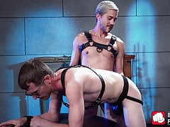 BDSM (Gay);Blowjob (Gay);HD Videos Blond homo spanks...