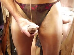 Crossdresser (Gay);Masturbation (Gay);HD Videos Nylon cock...
