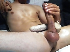 masturbate;ass-fuck;adult-toys;big-cock;ass-play;anal-play;anal-dildo;gay;bisexual-male;big-dick;big-white-cock;dutch-amateur;solo-male;watch-me-cum;edging-cock;spraying-cum,Solo Male;Gay Deep anal dildo