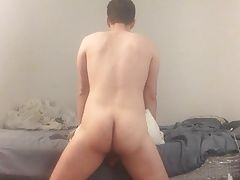 Men (Gay) Bed hump bouncing...