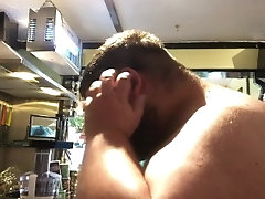 kink;fat;bear;hair;cut;trim;hair;hair;trim;chub;tubbs;bhm,Solo Male;Gay trimming clip