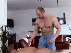 Gays (Gay),Massage (Gay),Men (Gay),Muscle (Gay) Massaging his...