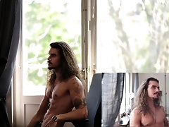 solo;straight;straightman;cam;swe;swedish;live;muscle;hunk;fit;longhair;tattoo;posing,Muscle;Solo Male;Gay;Hunks;Straight Guys;Uncut;Webcam Im Back!