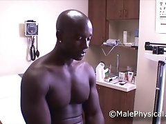 malephysical;black;cock;straight;muscle;doctor;physical;exam;medical;clinic;office;athlete;cum;prostate,Black;Muscle;Gay;Hunks;Straight Guys;Reality;Handjob;Jock;Cumshot Black Muscle...