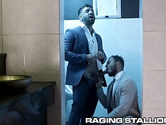 ragingstallion;office;public;deepthroat;bareback;big-cock;public-bathroom;dark-skin;riding-dick;gay-bathroom;ass-eating;indian;uncut;mateo-zagal;milo-madera,Bareback;Muscle;Blowjob;Big Dick;Gay;Hunks;Public;Uncut RagingStallion -...