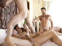 lucasentertainment;foursome;butthole;big-dicks;big-cocks;cum-in-mouth;gay-sex;gay-porn;ass-fuck;big-cock,Bareback;Muscle;Blowjob;Big Dick;Group;Gay;Mature Sergeant Miles...