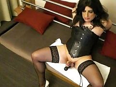 BDSM (Gay);Crossdressers (Gay);Masturbation (Gay);Sex Toys (Gay) Free hands cumming