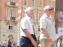 Daddies (Gay);HD Gays;Old Men;Streets;Old OLD MEN ON THE...