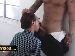 bullyhim;domination;old-vs-young;bully;gay;gay-porn;bareback;submission;nerd;student;anal;submissive;glasses;college;cum-on-ass;athletic,Bareback;Twink;Muscle;Blowjob;Big Dick;Gay;Handjob;Cumshot Nerdy College Boy...