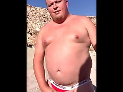 big;cock;public;outside,Daddy;Solo Male;Big Dick;Gay;Bear;Public;Chubby Letting my cock...