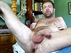 hairy;hairyartist;daddy;daddy-roleplay;big-cock,Daddy;Solo Male;Big Dick;Gay;Bear;Mature;POV all yours man