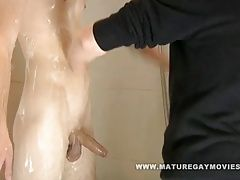 Amateur (Gay);Blowjobs (Gay);Daddies (Gay);Old+Young (Gay);Mature Gay Movies Sexy daddy takes...