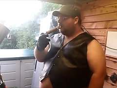 kink;leather;fat;bear;cigar,Solo Male;Gay my last leather