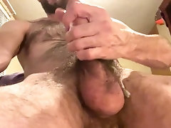 hairy-stud;gay-hairy;hairy-chest;hairy-dick;hairy-chested-stud;hairy-cum;cumshot;hand-play;cumming;scruffy-guy;wanking-off;jacking-off;otter;gay-cum;jo;thick-cum,Solo Male;Gay;Amateur;Handjob;Cumshot;Verified Amateurs Hairy stud shoots...