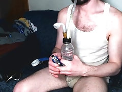 smoking;smoke;clouds;bong;party;pig;tina;getting-high;white-trash;wife-beater;jockstrap;ripe;hairy;jock;pipe;spun,Euro;Fetish;Solo Male;Gay;Amateur;Jock;Webcam;Verified Amateurs Trashy Guy - Ripe...