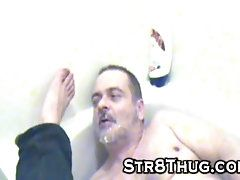 ass;str8;straight;master;slave;cock;cum;dick;rim;clean;feet;foot;pig;piss;pee;ws,Blowjob;Gay;Straight Guys Piss spit...