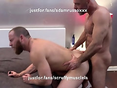 ian-sterling;fisting;hairy-ass;throat-fuck;spitting;bald;daddy,Bareback;Daddy;Muscle;Fetish;Blowjob;Big Dick;Pornstar;Gay,Adam Russo Adam Russo fists...
